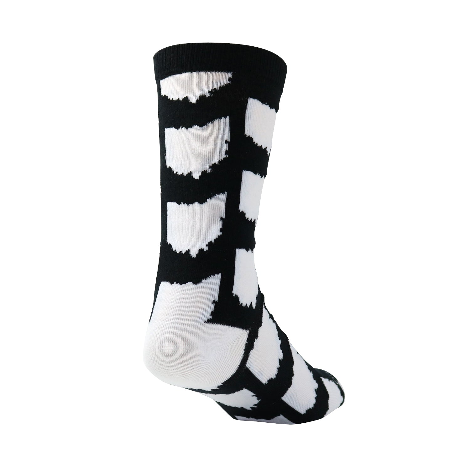 All Over OH Socks - Black/White - Originalitees
