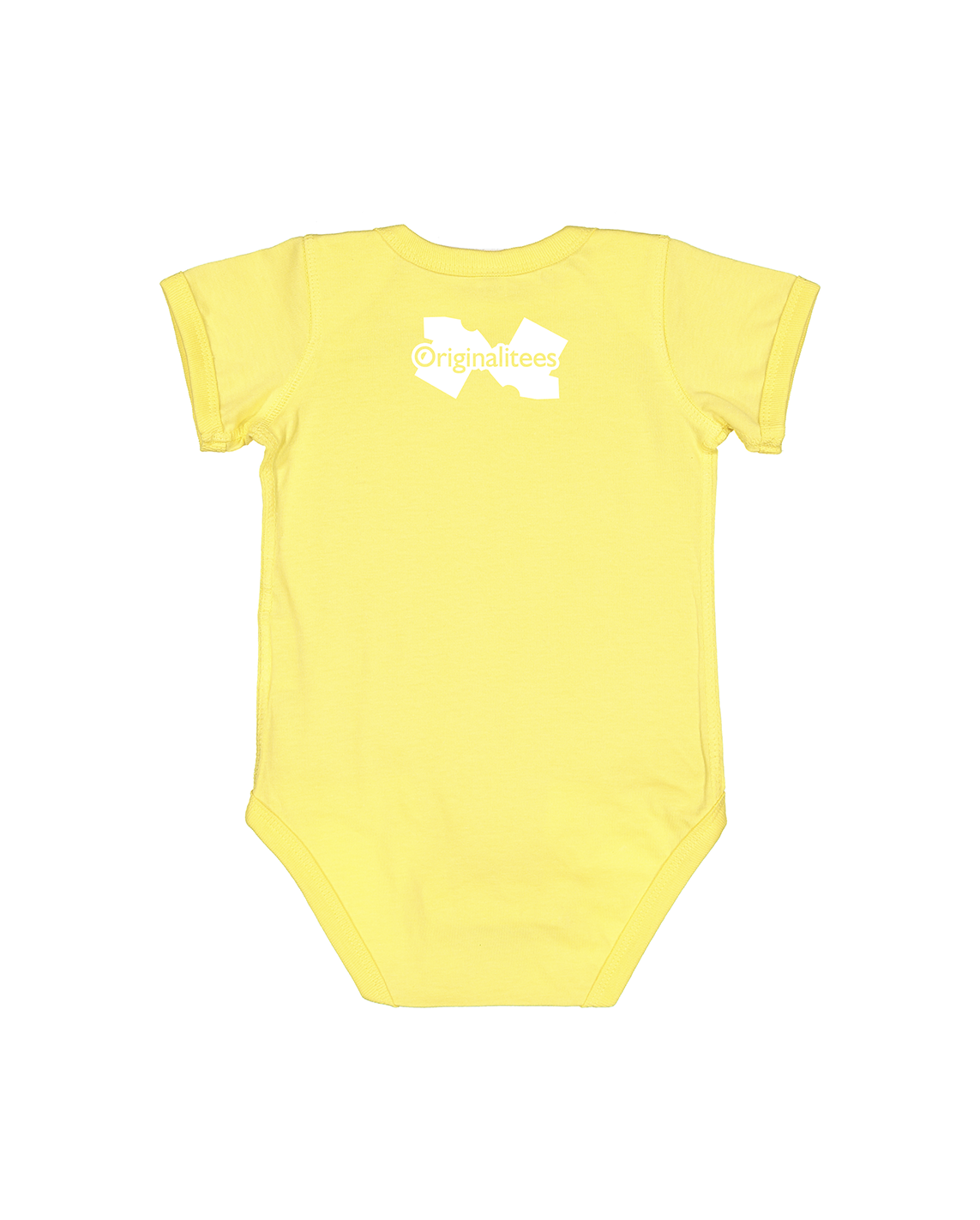 Future Product of Public Schools Short Sleeve Onesie - Sunny Yellow - Originalitees
