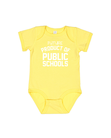 Future Product of Cincinnati Public Schools Short Sleeve Onesie - Charcoal Black