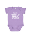 Future Product of Public Schools Short Sleeve Onesie - Lavender - Originalitees