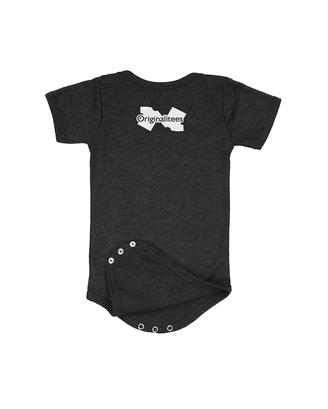 Future Product of Cincinnati Public Schools Short Sleeve Onesie - Charcoal Black - Originalitees