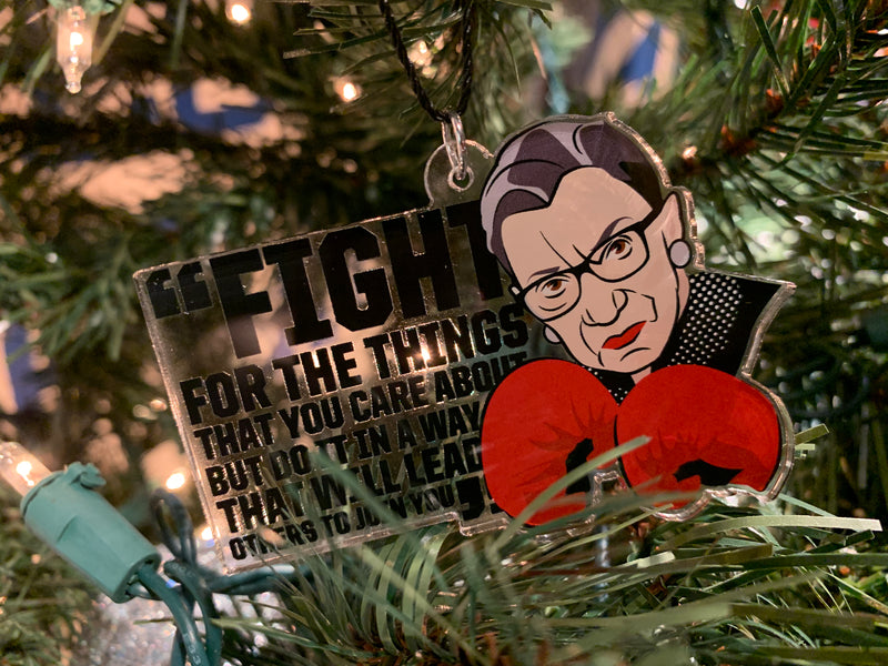 Ruth Bader Ginsburg - Fight For Ornament