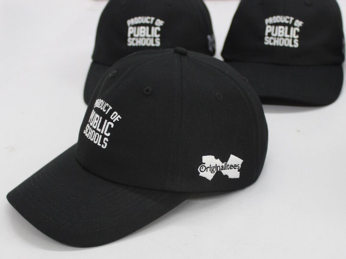 Product of Public Schools Dad Hats - Originalitees