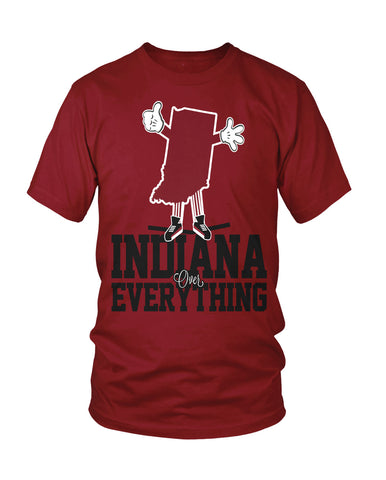Indiana Over Everything, New Apparel,Tees - Originalitees