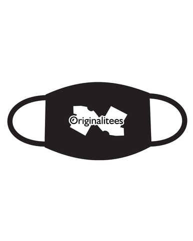 Ohio Masked Face Mask - Originalitees