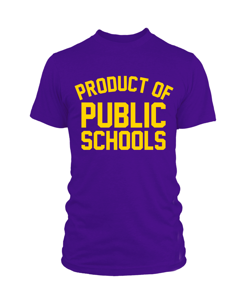 Product of Public Schools - Unisex - Purple