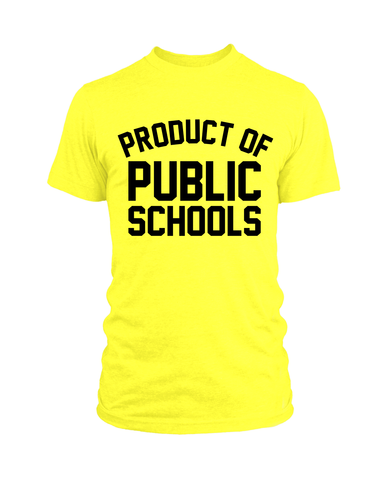 Future Product of Public Schools Bib - Black