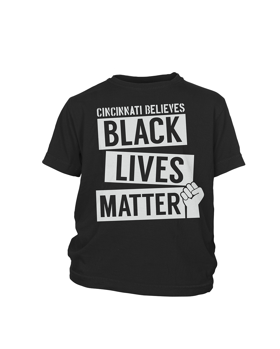 Cincinnati Believes Black Lives Matter - Kids