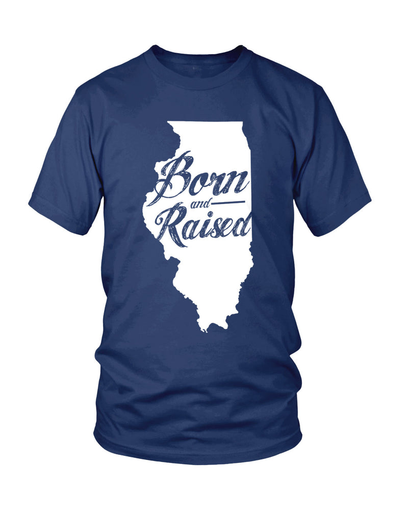 Illinois: Born & Raised - Originalitees