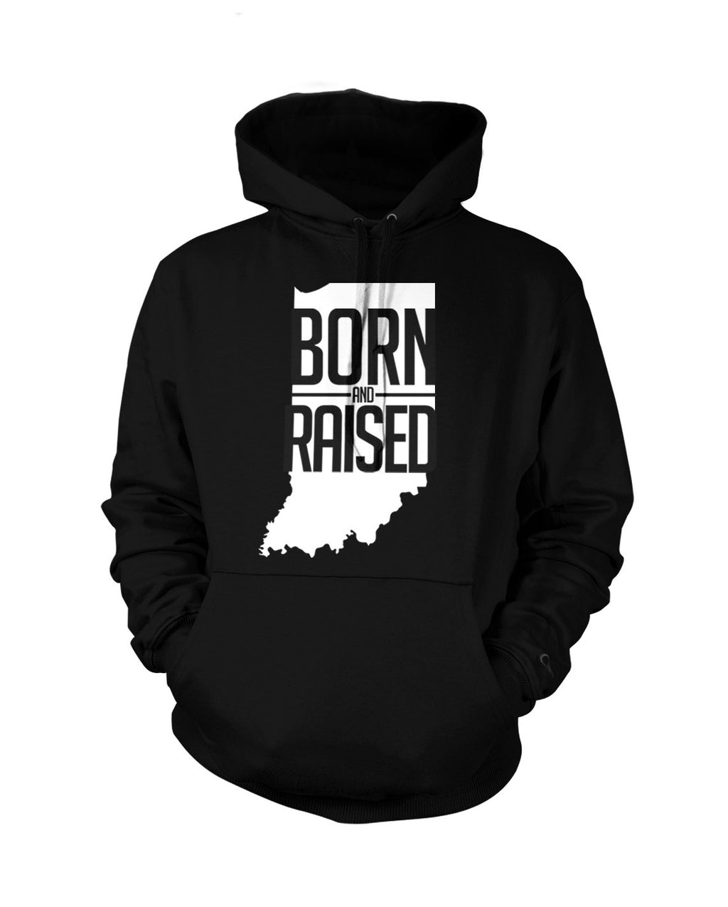 Indiana: Born & Raised - Hoodie - Originalitees