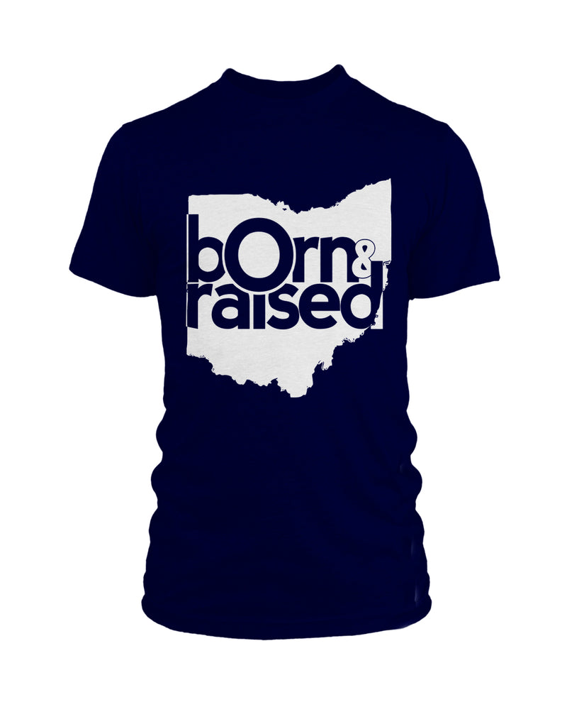 Ohio: Born & Raised - The Remix - Navy - Originalitees