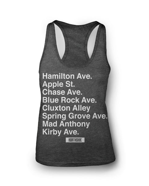 Northside Streets Tank for Her, New Apparel,Ladies,Tanks,Street Shirts - Originalitees