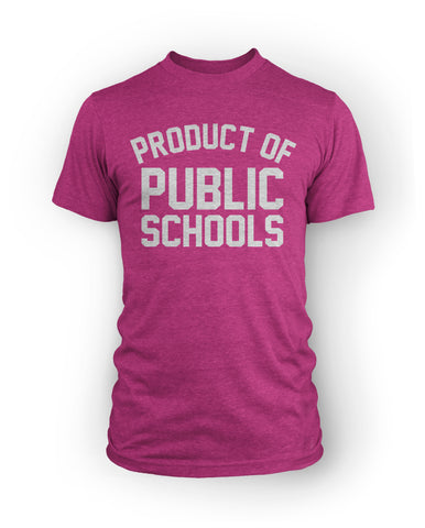 Product of Public Schools - Large Logo | Unisex - Navy