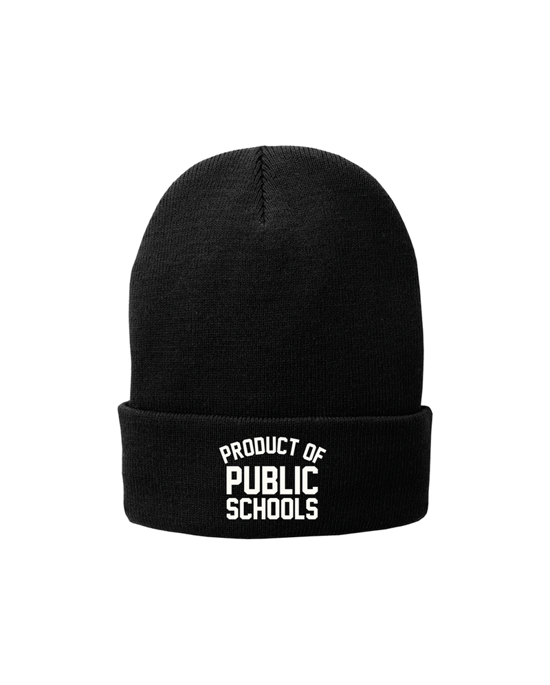 Product of Public Schools Beanie