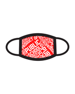 Product of Public Schools Face Mask - Red