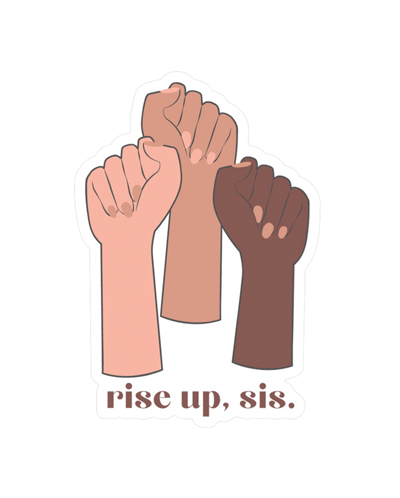 Rise Up, Sis - Car Magnet