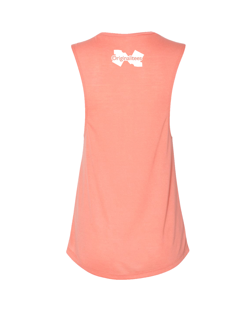 Run Cincy - Muscle Tank - Coral