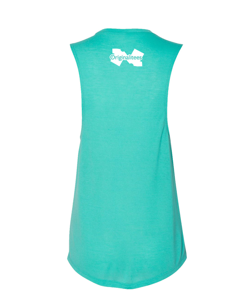 Ohio: Born & Raised Muscle tank - Teal