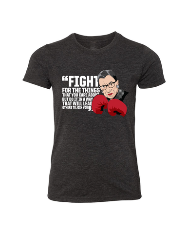 Ruth Bader Ginsburg Fight For - Off The Shoulder Sweatshirt