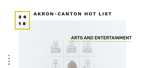 "Voted ""Best Art Gallery"" in the Akron-Canton area"