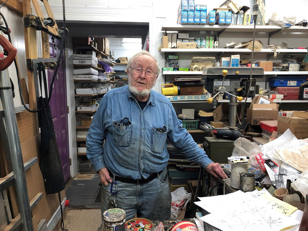 """State of the Arts: Inside Don Drumm's Studio"" - WKSU"