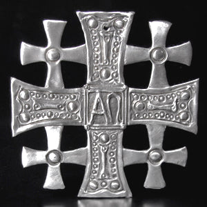 Don Drumm Large Jerusalem Cross