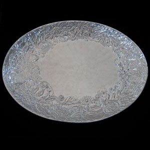 Don Drumm Large Oval Sunflower Platter