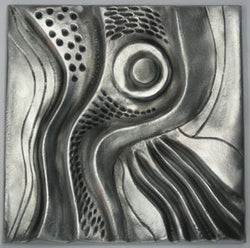 Don Drumm Large Abstract Tile