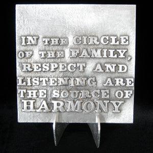 "Don Drumm ""Circle of Family"" Tile"