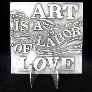 Don Drumm Art is a Labor of Love Tile