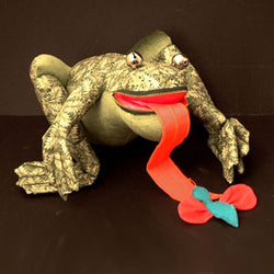 Lisa Drumm Frog Doll