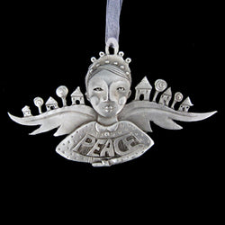 NEW! Leandra Drumm Wings of Peace Ornament