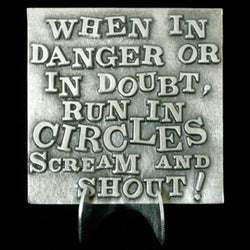"Don Drumm ""When in Danger"" Tile"