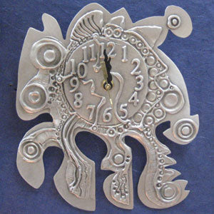 Don Drumm Abstract Quadruped Clock