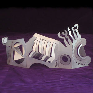 Don Drumm Abstract Bend-A-Sculpture