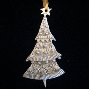 Leandra Drumm Tree with Star Ornament