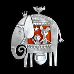 "Leandra Drumm ""Elephant Ride"" Night Light"