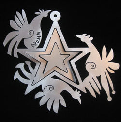 Don Drumm Birds with Star Ornament