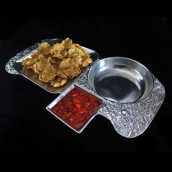 Don Drumm 3-Section Dip Tray