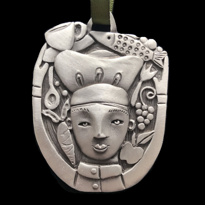 "Leandra Drumm ""Chef"" Ornament"