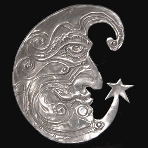 Don Drumm Crescent Moonface Dish