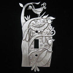 Leandra Drumm Bizarre Birds Switchplate