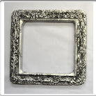 Don Drumm Aluminum Square Abstract Mirror
