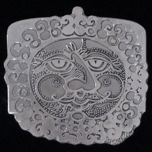 Don Drumm Bearded Sun Trivet