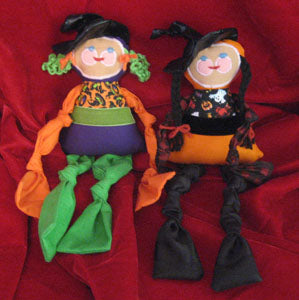 Lisa Drumm Knotty Witch Doll