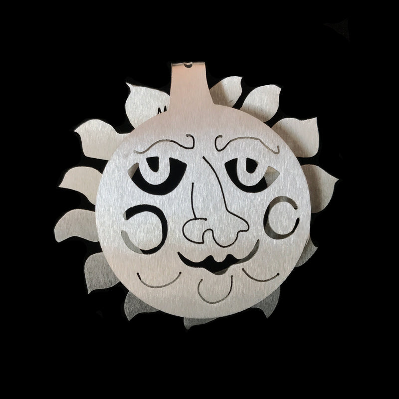 "Don Drumm ""Sunface"" Bend-A-Ornament"