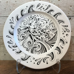 "NEW Leandra Drumm Ceramic Plate ""Octopus Song"""