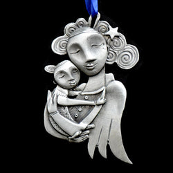 Leandra Drumm Stardust Angel Ornament