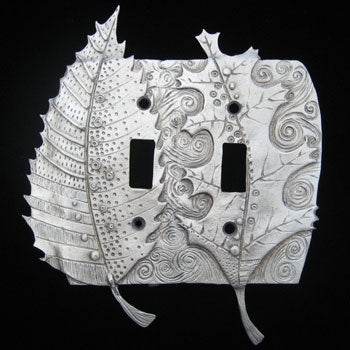 Leandra Drumm Double Leaf Switchplate