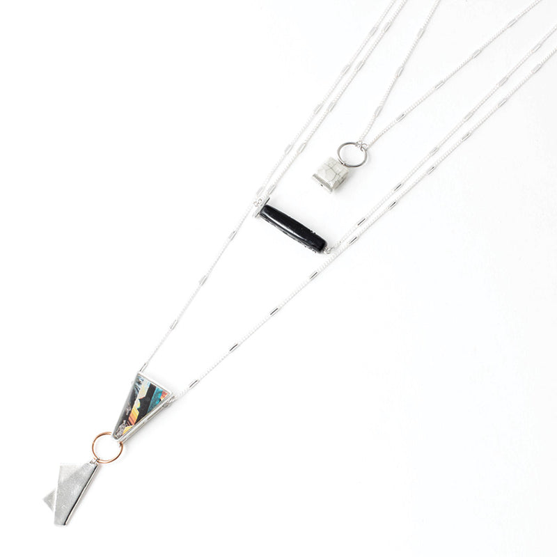 Anne-Marie Chagnon Jasmine Necklace in Macaw